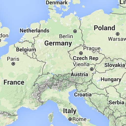Map Of Germany Google.Custom Map Sources For Guru Maps